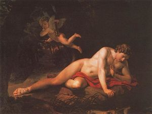 Karl Pavlovich Bryullov - The Narcissus