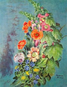 Kateryna Vasylivna Bilokur - Bouquet of flowers