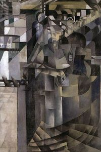 Kazimir Severinovich Malevich - Living in a big hotel