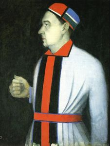 Kazimir Severinovich Malevich - Portrait of Man