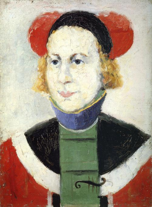 Portrait, 1932 by Kazimir Severinovich Malevich (1878-1935, Ukraine) | Art Reproduction | WahooArt.com