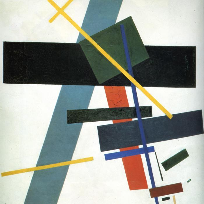 Suprematism, 1916 by Kazimir Severinovich Malevich (1878-1935, Ukraine) | Famous Paintings Reproductions | WahooArt.com