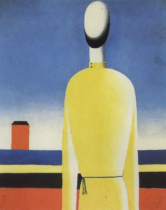 Bad Premonition by Kazimir Severinovich Malevich (1878-1935, Ukraine) | Art Reproduction | WahooArt.com