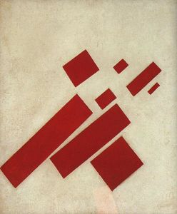 Kazimir Severinovich Malevich - Suprematism with eight rectangles
