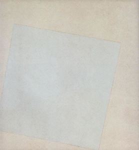 Kazimir Severinovich Malevich - Suprematist Composition: White on White