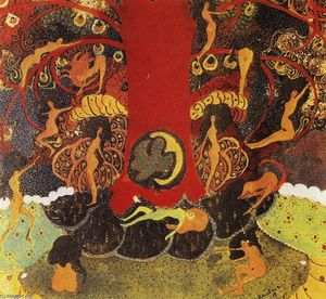 Kazimir Severinovich Malevich - Oak and dryads