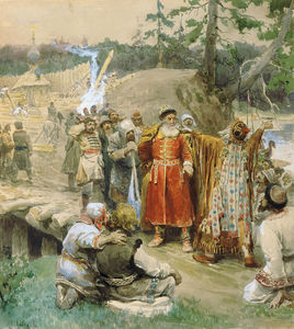 Klavdi Vasilievich Lebedev - The development of new lands by Russian