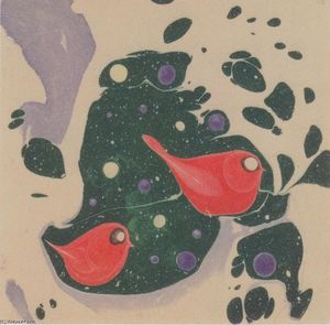 Koloman Moser - Animal motif for a picture book
