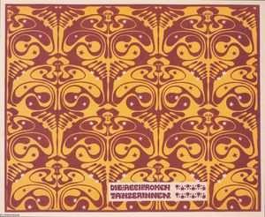Koloman Moser - The reciprocal of dancers