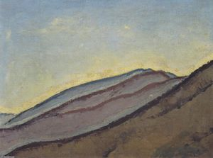 Koloman Moser - Mountain slope