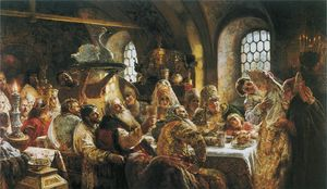 Konstantin Yegorovich Makovsky - The Boyars- Wedding