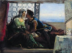 Konstantin Yegorovich Makovsky - Romeo and Juliet