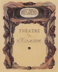 Konstantin Somov - Cover of Theater Program 'Theatre de L Hermitage'