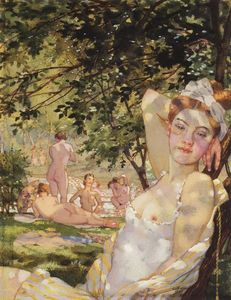 Konstantin Somov - Bathings in the Sun
