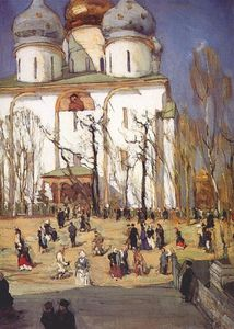 Konstantin Yuon - The Celebration Day