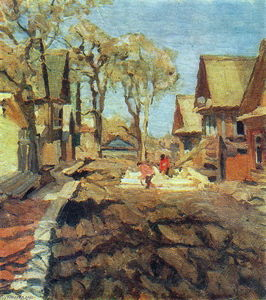 Konstantin Yuon - The Old Elms