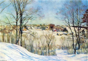 Konstantin Yuon - The Winter Day