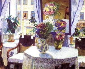 Konstantin Yuon - The Interieur