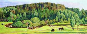 Konstantin Yuon - Summer Day
