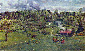 Konstantin Yuon - Green May