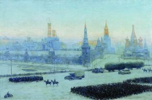 Konstantin Yuon - Moscow Morning