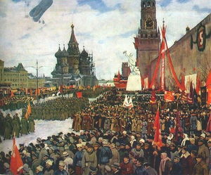 Konstantin Yuon - The Red Army parade