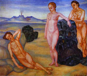 Kuzma Petrov-Vodkin - The Dream