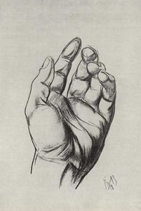 Kuzma Petrov-Vodkin - Drawing hands