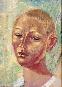 Kuzma Petrov-Vodkin - Portrait of a Boy