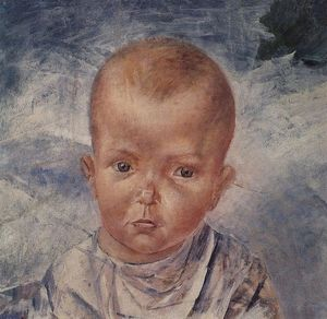 Kuzma Petrov-Vodkin - The daughter of an artist