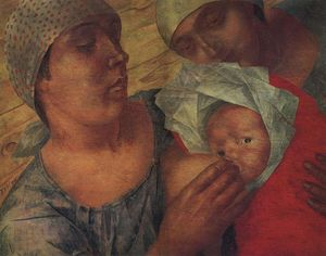 Kuzma Petrov-Vodkin - Motherhood