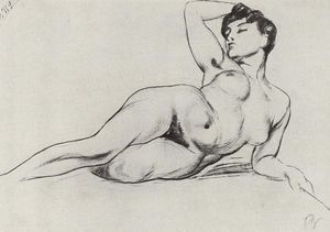 Kuzma Petrov-Vodkin - The Model