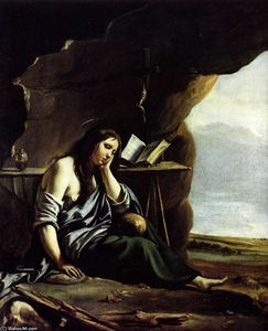 Antoine (Brother) Le Nain - Mary Magdalene in Meditation
