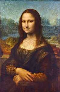 Leonardo Da Vinci - Mona Lisa (La Gioconda) - (Famous paintings reproduction)