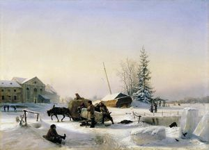 Lev Lagorio - Transportation of Ice