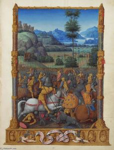 Limbourg Brothers - David's Victory
