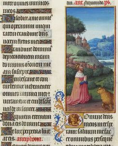 Limbourg Brothers - Psalm VII