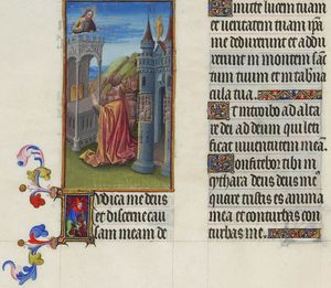 Limbourg Brothers - Psalm XLII