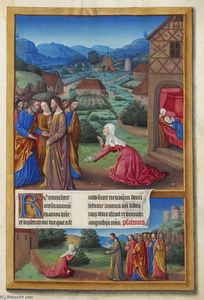 Limbourg Brothers - The Canaanite Woman