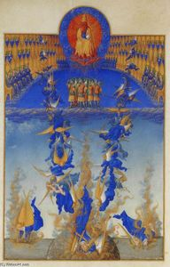 Limbourg Brothers - The Fall of the Rebel Angels