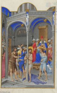 Limbourg Brothers - The Flagellation