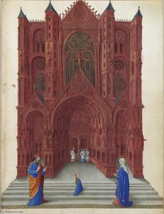 Limbourg Brothers - The Presentation of the Virgin