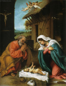 Lorenzo Lotto - Nativity of Christ