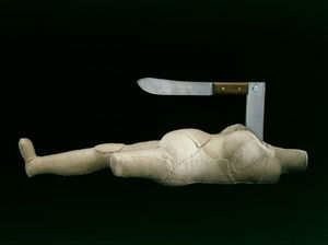 Louise Joséphine Bourgeois - Woman-Knife