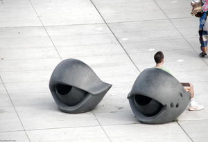 Louise Joséphine Bourgeois - Eye Benches