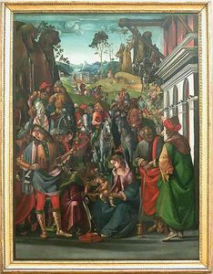 Luca Signorelli - Adoration of the Magi