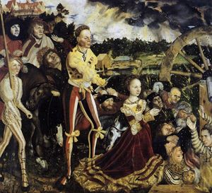 Lucas Cranach The Elder - The Martyrdom of St. Catherine
