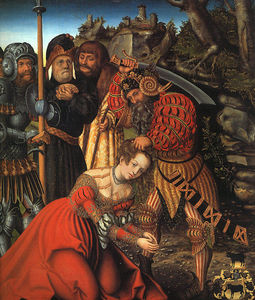 Lucas Cranach The Elder - The Martyrdom of St. Barbara