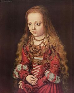 Lucas Cranach The Elder - Portrait of a Saxon Princess
