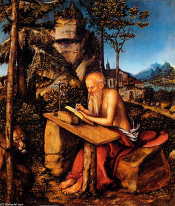 Lucas Cranach The Elder - Saint Jerome